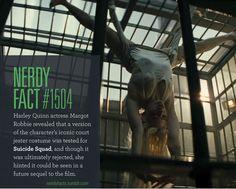 NERDY FACTS — Nerdy Fact #1504: Harley Quinn actress Margot...