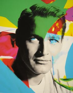 Paul Newman by James Gill