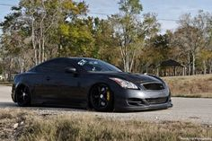 Blacked out G35 bagged and kit