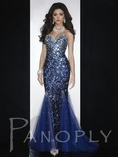 Long dress for pageant