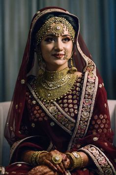 Perfect finishing to a bridal look is given by stunning nose rings! Book the best makeup artist now with BookEventZ to get the perfect bridal look on THE DAY! Indian Bridal Outfits, Indian Bridal Makeup, Indian Bridal Fashion, Bridal Dresses, Bridal Hijab, Wedding Outfits, Bridal Bouquets, Indian Wedding Bride, Punjabi Wedding