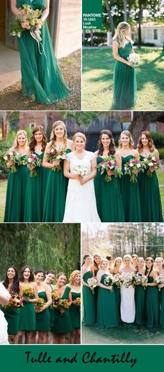lush meadow fall wedding color ideas for bridesmaid dresses