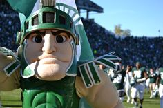 You believe in Sparty. | Community Post: 23 Signs You Went To Michigan State University