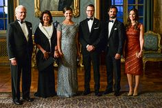 The Swedish Royal Family, September 4, 2015-King Carl Gustaf, Queen Silvia, Crown Princess Victoria, Prince Daniel, Prince Carl Philip and Princess Sofia; it was announced today that the Crown Princess couple is expecting their second child in March 2016.