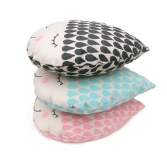New cushion raindrop mini! Silk screened by hand, danish design Special weekend price over on my etsy shop