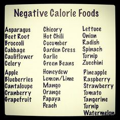Foods that take as many calories to eat and digest as they contain themselves, virtually zero calories once digested! Get Healthy, Healthy Tips, Body Detox Drinks, Fitness Diet, Health Fitness, Negative Calorie Foods, Fit Board Workouts, How To Lose Weight Fast, Reduce Weight