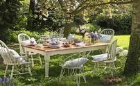 Tea in the garden?  Oh yes!