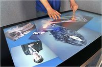 Multi-Touch Tables Enable Users To Swipe, Pinch, and Flick To Control On Screen Content