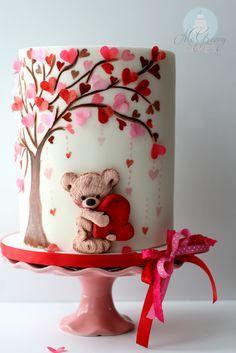 McGreevy Valentine Day Cake Tutorial