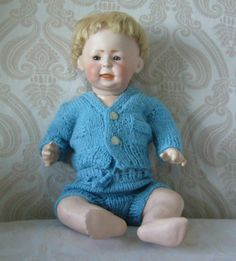 Simon & Halbig German Bisque Head Character Baby German Boys, Boy Doll, Antique Dolls, Boudoir, Temple, Victorian, French, Amp, Character