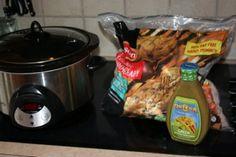 Crockpot Chicken tacos