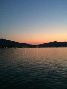 Sunset - Harbour - Greece (Stavros)