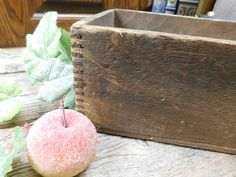 Items similar to Antique Rustic Wood Dovetailed Hardware Drawer on Etsy Box Joints, Drawer Hardware, Wood Drawers, Antique Auctions, How To Antique Wood, Rustic Wood, Home Interior Design, Carving, The Originals