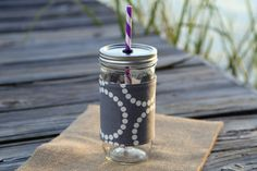 You can't go wrong with gray!! All mason jar tumblers in my shop include free monograms!! Check out this item in my Etsy shop today!! #monogrameverything #etsygifts https://www.etsy.com/listing/192412633/mason-jar-tumbler-24-oz-mason-jar-to-go