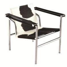 Fine Mod Imports FMI1141 String Pony Flat Chair in Polished Chrome