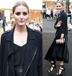 Olivia Palermo Styles Rebecca Minkoff 'Riley' Sandals