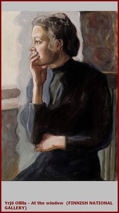 Yrjö Ollila At the Window - The Largest Art reproductions Center In Our website. Low Wholesale Prices Great Pricing Quality Hand paintings for saleYrjö Ollila Female Portrait, Portrait Art, Female Art, Klimt, Norman, Gabriel, Jules Cheret, Joseph, Ernest