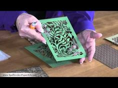 How to Use Spellbinders Shapeabilities Expandable Patterns - YouTube