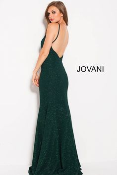 jovani 59887 emerald backless beaded dress