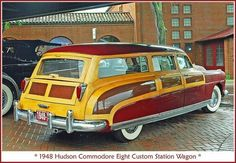 1948 Hudson Commodore Eight Custom station wagon