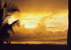 Honduras ocean scene.