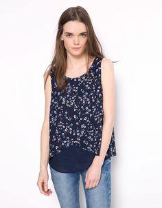 Blusa Bershka básica - Camisas & blusas - Bershka Colombia