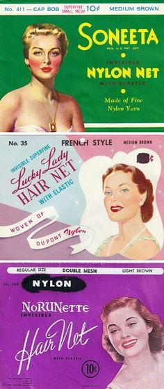 Vintage hair nets