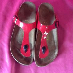 Birkenstock sandals 9 Cute sandals. They have some marks. See photos. Birkenstock Shoes Sandals
