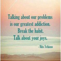 I want to break the habit!