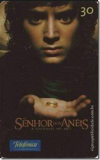 Descrição:  Série: O Senhor dos Anéis – A Sociedade do Anel  Operadora…