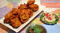 Vegan Indian Onion Fritters