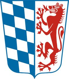 Coat of arms of the bavarian district de:Bezirk Niederbayern