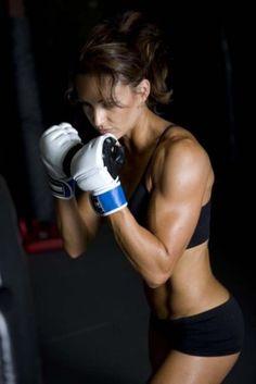 Motivation for kickboxing.