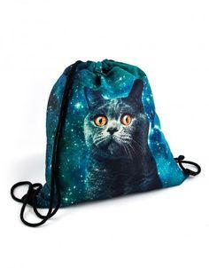 Plecak Kosmos #paniKOTA #koty #kociara #kocierzeczy #worek #plecak