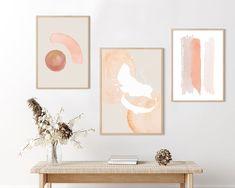 Plant Wall Decor, Wall Art Decor, Wall Art Sets, Watercolor Print, Wall Prints, Printable Wall Art, Gallery Wall, Grey Carpet, Wabi Sabi