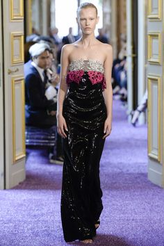 Eva Mineava at Francesco Scognamiglio Haute Couture F/W 2016