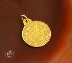 Buy Now Phaistos Disc golden pendant Phaistos pendant coin. Greek Jewelry, Coin Jewelry, Coin Necklace, Golden Ring, Antique Coins, Bohemian Rings, Coin Ring, Holiday Jewelry, Coin Pendant