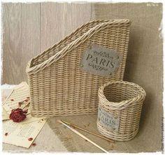 """Zhurnalnitsy ručne.  Fair Masters - ručné Pletená súprava """"Paris"""".  Handmade."""