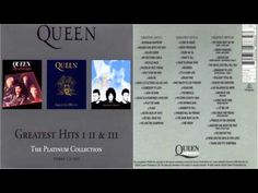 Queen - Greatest Hits I II III Platinum Collection 3CD Album