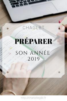 Préparer son année 2019 · Charlotte