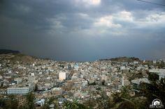 Yemen | مدينة تعز قريب نزول المطر