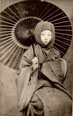 Geiko Kayo - in Winter Dress 1870s