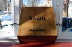 Handmade Name engraved Hope Chest by LKWoodenthings on Etsy, $95.00