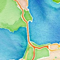 Stamen's toner, terrain and watercolor map styles are lovingly crafted and free for the taking.