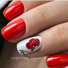 Learn something new and create unique spring nail designs in 2020 ❤ Find the great nail art ideas for spring ❤ See more at LadyLife Cute Nail Art, Cute Nails, Pretty Nails, Acrylic Nail Designs, Nail Art Designs, Acrylic Nails, Holiday Nails, Christmas Nails, Fabulous Nails