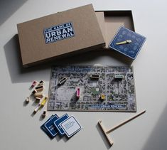 The Endless Cycle Of Urban Renewal, As A Board Game | Co.Design: business + innovation + design for all of you Urban planners out these and BAEPD students out there.