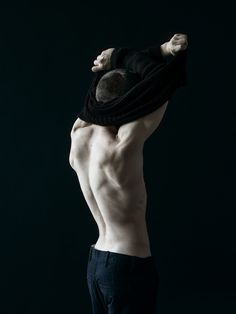 Approaching Autumn/Winter Warsaw based THISISNON again challenges my task of writing about them without using the phrase fashion brand. Anatomy Back, Body Study, Human Poses, Human Reference, Guy Pictures, Male Body, Black Wool, Movie Stars, Editorial Fashion