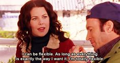 love Gilmore Girls! This is definitely me, hahaha