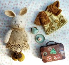 So the third little animal in my anniversary giveaway has now arrived in her new home in beautiful Brittany, France and has been given the name Noisette by her new owner. Time for me to finish some of her brother sisters :-) #littlecottonrabbits #knittedrabbit #knittersofinstagram #knitstagram #handmadewithlove #knitting #knittedtoys #amigurumi #handmadedoll #stillswithstories