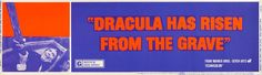 Dracula Has Risen From the Grave (1969), banner
